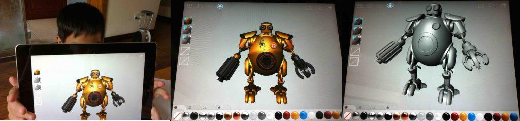 Dudu's 21st Century Robot